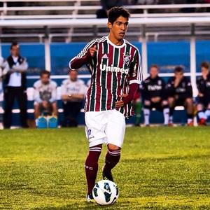 Luquinha, meia do Fluminense (Foto: Arquivo Pessoal)