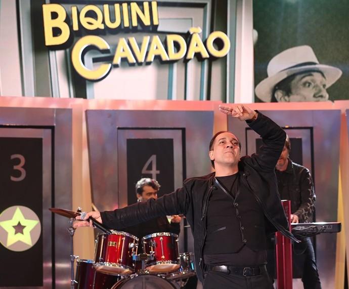 Biquíni Cavadão se apresentou no 'Ding Dong' com 'Tédio' (Foto: Carol Caminha/Gshow)