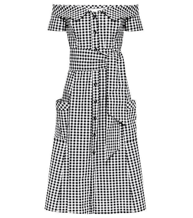Vestido de tricoline Amissima, R$ 528 (Foto:   Fotos: Rafael Pavarotti (SD MGMT) / Imaxtree / Divulgação)