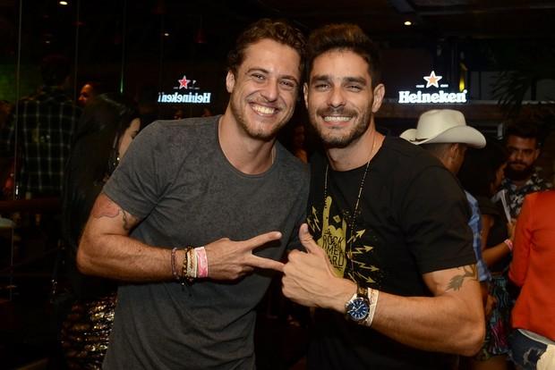 Daniel e Diego (Foto: Roberto Teixeira/ EGO)