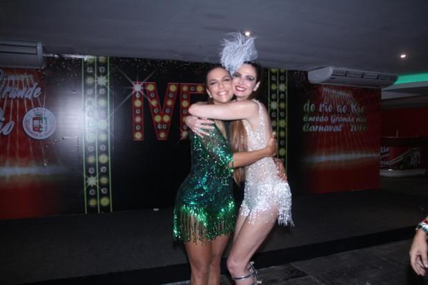 Ivete Sangalo e Luciana Gimenez (Foto: Rodrigo dos Anjos/AgNews )