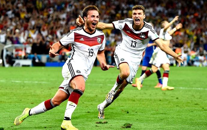 Mario Gotze gol final Alemanha x Argentina (Foto: Reuters)