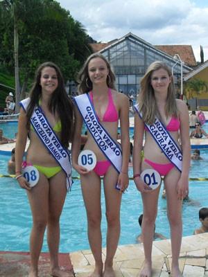Garota Verão - representantes de Marcelino Ramos, Viadutos e Gaurama (Foto: Divulgação/Garota Verão)