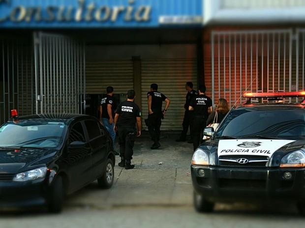 Mandados de busca e apreensão são cumpridos em seis locais, em Goiás (Foto: Divulgação/ Polícia Civil)