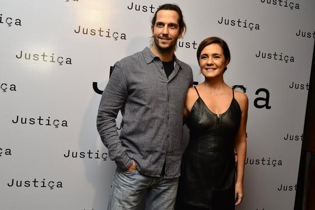 Adriana Esteves e Vladimir Brichta (Foto: Roberto Teixeira / EGO)
