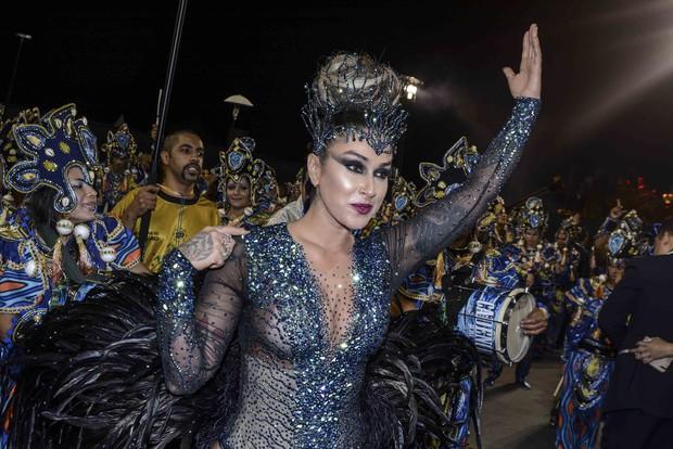 Dani Bolina - Unidos de Vila Maria (Foto: Leo Franco e Edimar Ferreira / AgNews)