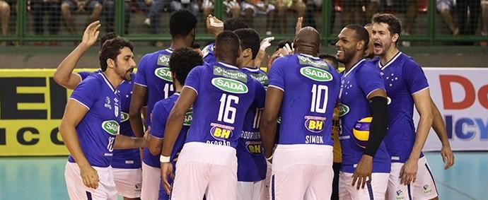 Cruzeiro x Campinas, Superliga (Foto: Divulgação/ Cruzeiro)