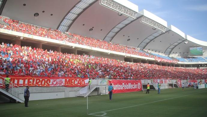 América-RN torcida Arena das Dunas (Foto: Fabiano de Oliveira)
