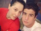 Claudia Raia malha com o filho Enzo