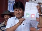 'Se eu perder o referendo vou embora feliz', diz Evo Morales