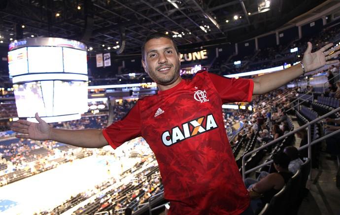 Bruno Coimbra, Orlando X Flamengo (Foto: Pedro Verissimo)