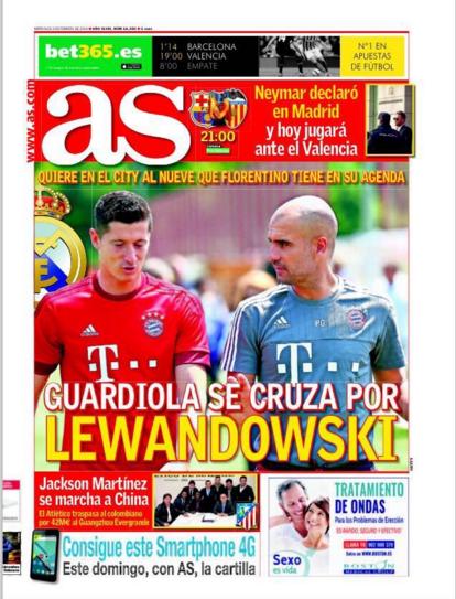 BLOG: Copa do Rei? Neymar? Lewandowski e Ronaldinho viram manchete na Espanha