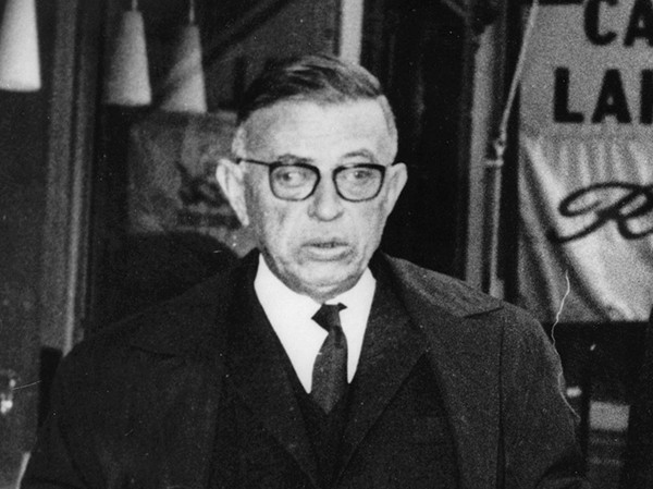 Jean-Paul Sartre em 1964 (Foto: Getty Images)
