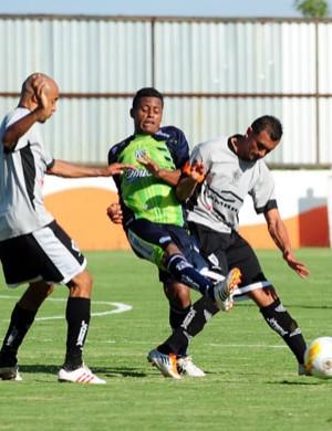 Rio Branco e Caldense ficaram no empate: 2 a 2 (Foto: Nacim Elias / Assessoria Rio Branco)