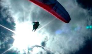 Voo livre, em Patu (Foto: Reprodução/Inter TV Cabugi)