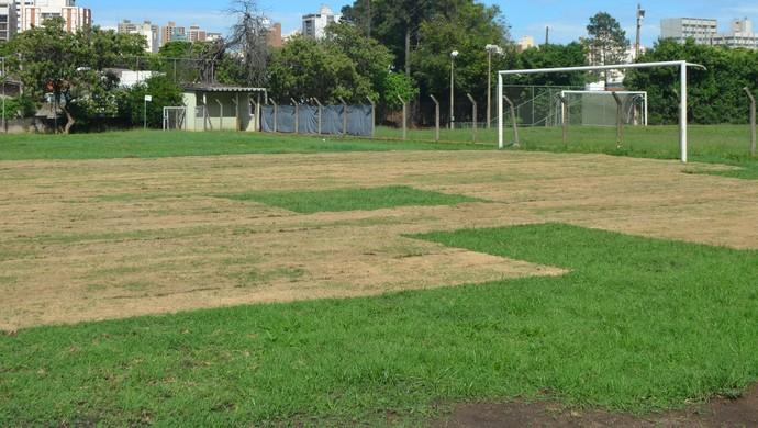 reforma centro de treinamento guarani (Foto: Marcel Kassab)