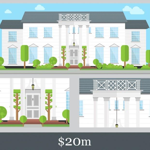 Mansão em Bel Air custaria US$ 20 milhões (Foto: Reprodução/Mortgage Advisers)