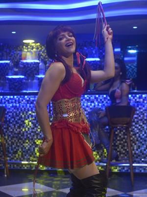 Antes de se casar com Sílvio, Marisa era dançarina em boate (Foto: Renato Rocha Miranda/TV Globo)