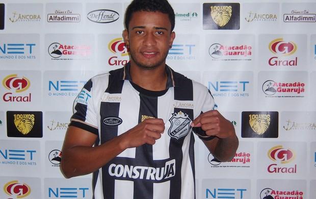 Maicon Souza Inter de Limeira Leão da Paulista (Foto: Bruno Basso / Inter de Limeira)