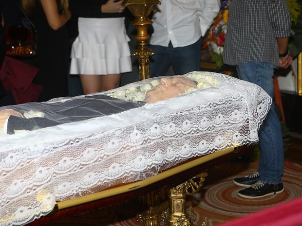 Corpo de Paulo Goulart é velado no Theatro Municipal de São Paulo (Foto: Iwi Onodera/ EGO)