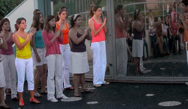 Cluster Sisters no Coro da UEL (Foto: Arquivo pessoal)