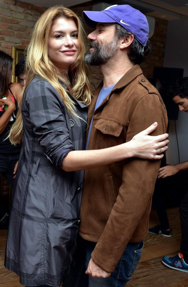 Aline Moraes dançando com Mauro Lima (Foto: CRISTINA GRANATO / Divulgação )