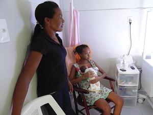 Maternidade está sendo reestruturada por Junta Interventora (Foto: Felipe Gibson/G1)