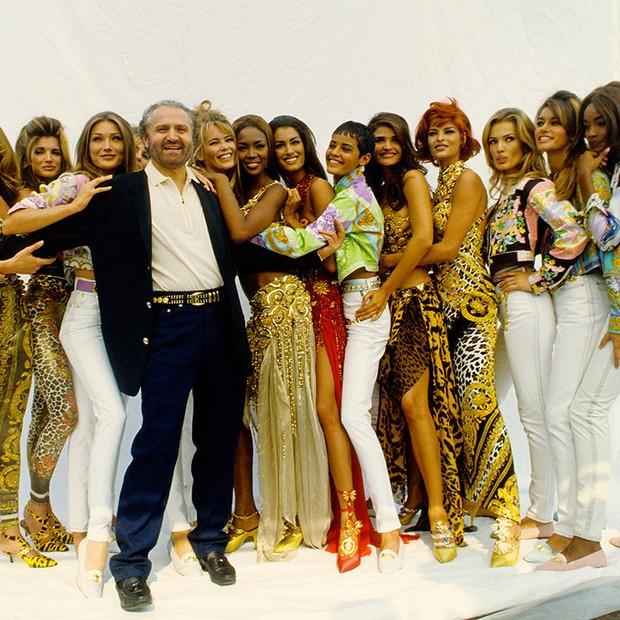Gianni Versace foi assassinado em 1997 (Foto: Getty Images)