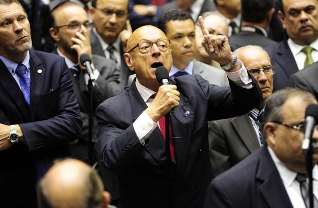 O deputado Esperidião Amin (PP-SC) (Foto: Gustavo Lima/Câmara dos Deputados)