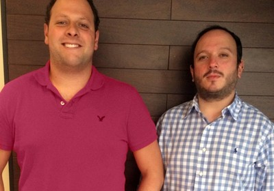 Lucas Faria (esq.) e Marcelo Srougi, fundadores da rache aqui! (Foto: Divulgação)