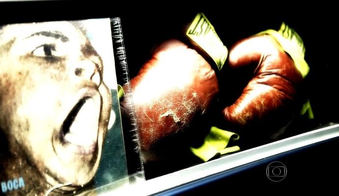 Ali, um ícone do boxe (Foto: Reprodução TV Globo)