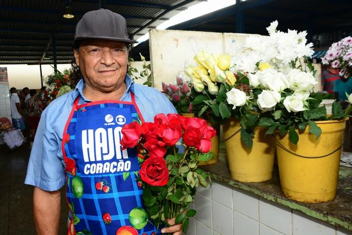 Flores para colorir (Foto: Eli Cruz)