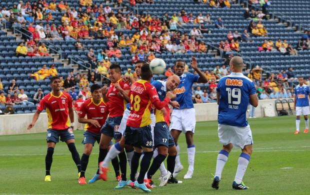 Bruno Rodrigo, Cruzeiro, Bridgeview, Monarcas Morelia (Foto: Reprodução / Site Oficial do Cruzeiro)