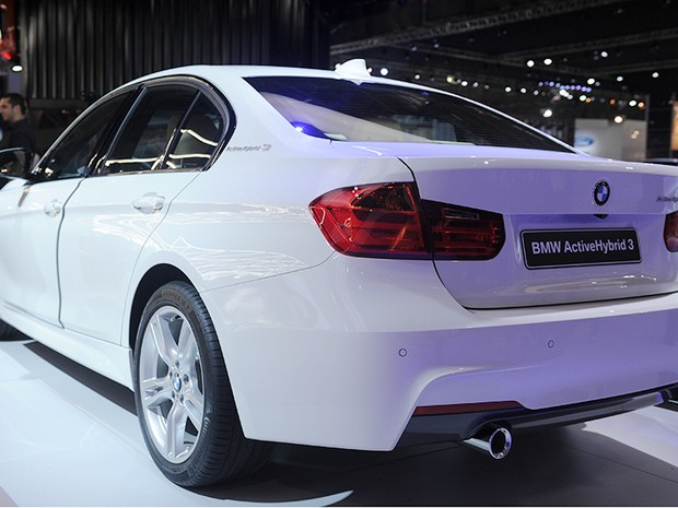 23 de outubro - BMW ActiveHybrid 3 (Foto: Raul Zito/G1)