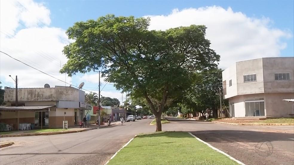 Tacuru fica a 407 quilômetros de Campo Grande (Foto: Reprodução/TV Morena)