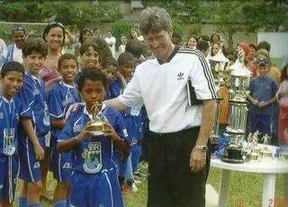 Pedro Rocha grêmio infância (Foto: Reprodução)