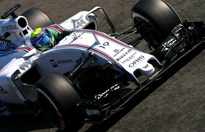 Felipe Massa em ação no GP da Itália