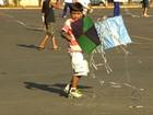 Campanha em MT conscientiza crianças sobre uso de cerol em pipas