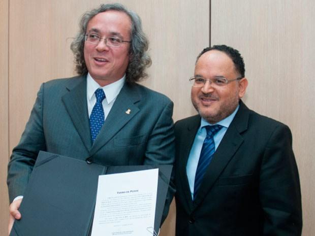 Professor João Carlos Salles tomou posse como Reitor da UFBA (Foto: Divulgação)