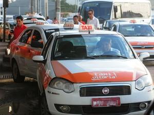 Vitória divulga lista de concessão de 108 novas placas de táxi, espírito santo (Foto: Ricardo Medeiros/ A Gazeta)