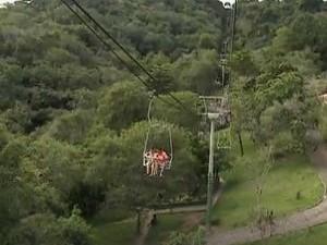 Parque da Cidade em Aracaju (Foto: Reprodução/TV Sergipe)