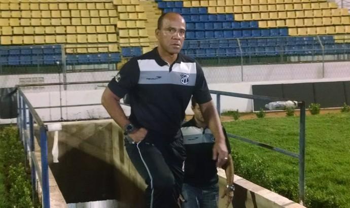 Sérgio Soares treinador do Ceará (Foto: Juscelino Filho)