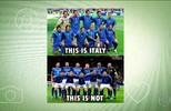 Desclassificação da Itália da Copa da Rússia vira fonte de memes na internet