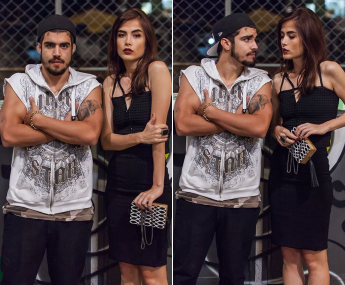 Os dois personagens, Grego e Margot, vão se aproximar bastante nos próximos capítulos (Foto: Artur Meninea/Gshow)