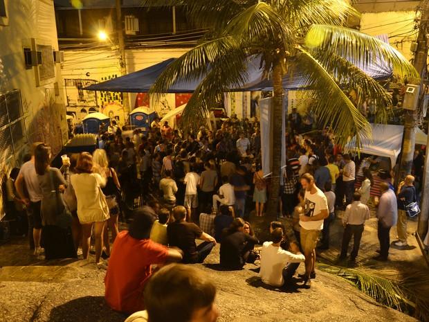Já na segunda, samba toma conta da Pedra do Sal (Foto: Alexandre Macieira/Divulgação/RioTur)
