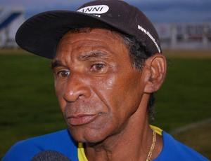 Maílton Gomes, técnico do Sport Campina (Foto: Silas Batista / GloboEsporte.com)