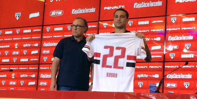 Bruno Apresentação São Paulo (Foto: Marcelo Hazan)