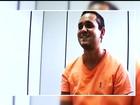 Preso suspeito de latrocínio sorri ao depor em Cristalina, GO; veja vídeo