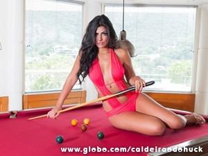 Mariane espera um namorado (Foto: TV Globo/ Caldeirão)