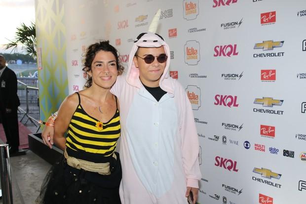 Maria Gadú e a namorada (Foto: Thiago Duran/Agnews)